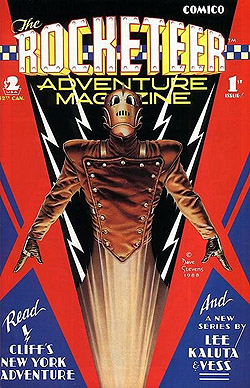Rocketeer Adventure Magazine