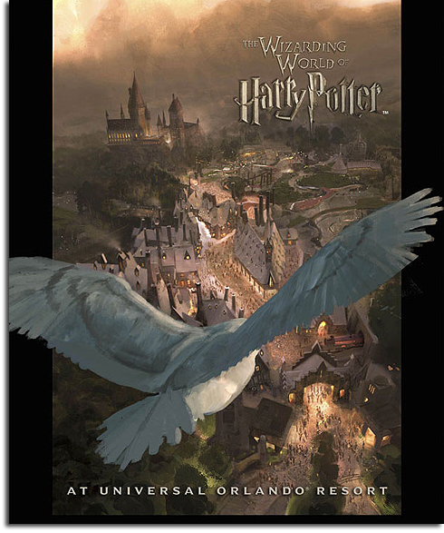 Poster for the Wizarding World of Harry Potter