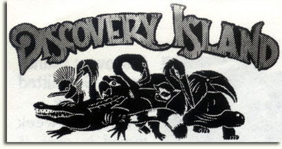 Proposed Discovery Island logo by Owen Yoshino, 1993