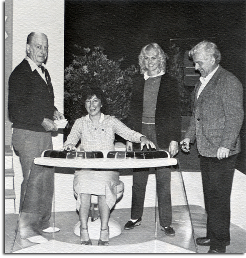 John Hench, Tori Atencio, Kathy Knutson and George McGinnis in Horizons