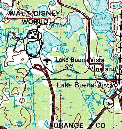 Retroworlds The Lake Buena Vista STOLport Progress City USA