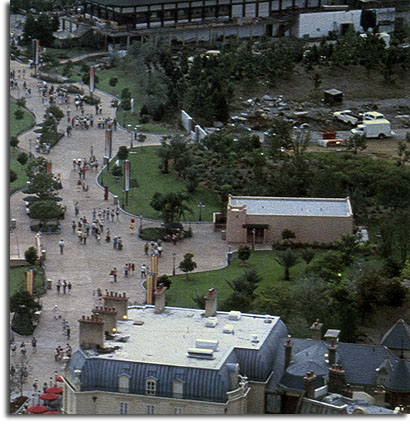 The Morocco site in EPCOT, 1982