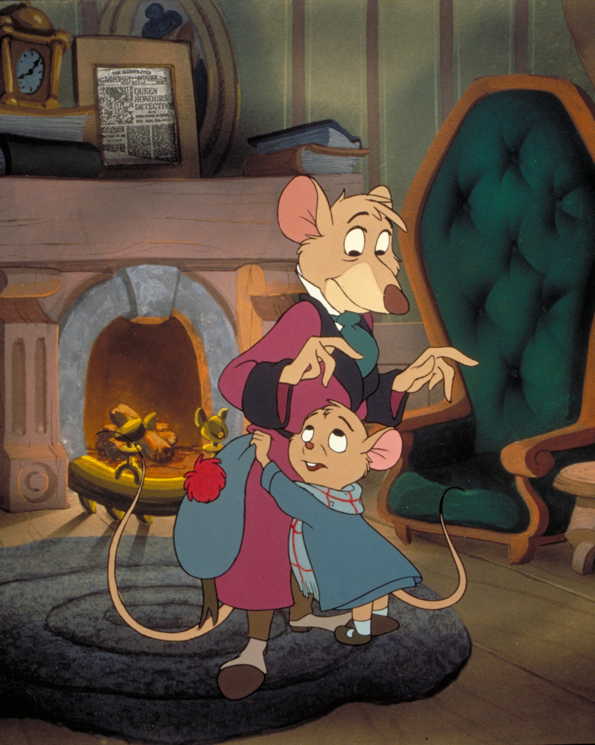 Great Mouse Detective Basil